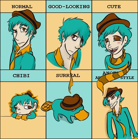 Perry The Platypus Meme - style meme agent p perry by liltingmoone on deviantart