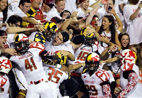 best student sections in college football maryland student sections in college football espn