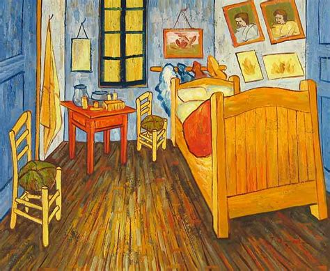 you can rent vincent gogh s painting the bedroom on airbnb