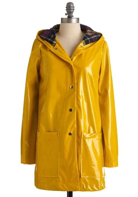 yellow raincoat pretty slicker coat