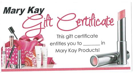 mary kay gift certificate templates search results calendar 2015 - Mary Kay Gift Card