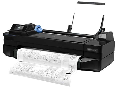 Printer A1 hp designjet t120 24 quot wide format printer cq891a b1k hp 174 store