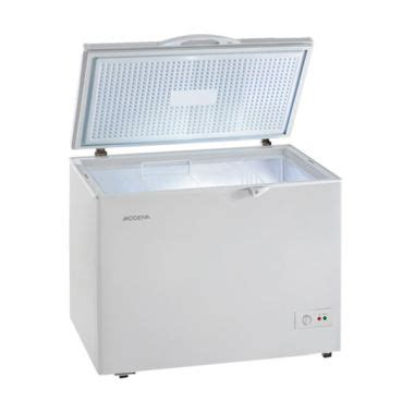 Freezer Box Modena Baru jual modena md 20 chest freezer harga kualitas