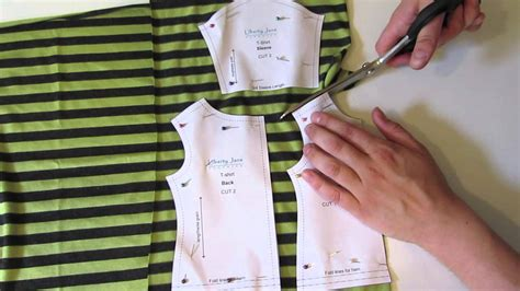 t shirt doll design how to cut out the t shirt pattern with melinda from