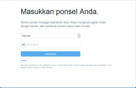 cara membuat twitter verifikasi cara mendaftar membuat akun twitter dengan mudah