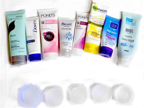 Sabun Muka Dove daftar ph sabun cuci muka merek lokal dan drugstore di