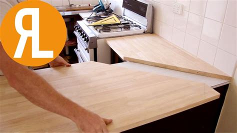 how to install a bar top how to install a countertop without removing the old one