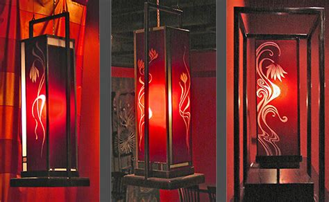 Modern Wall Design glass lights custom stained glass design and fabrication