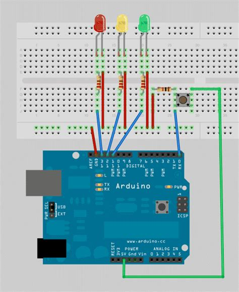 how to program lights arduino programming for beginners the traffic light