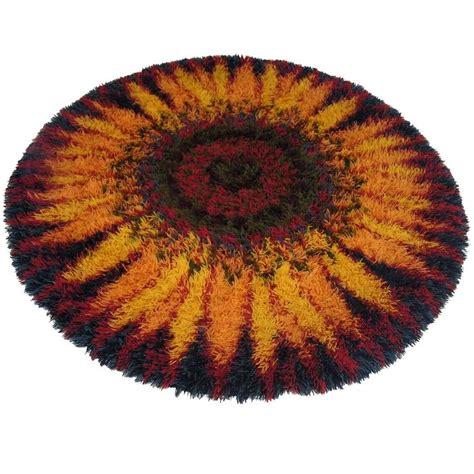 1970s rug 1970s scandinavian modern sunburst rya rug denmark for sale at 1stdibs