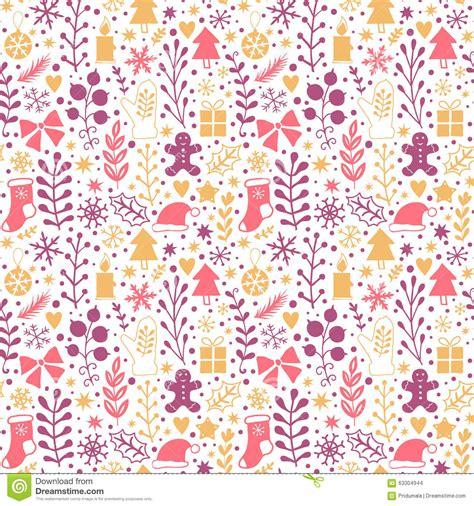 new year wrapping merry seamless pattern happy new year