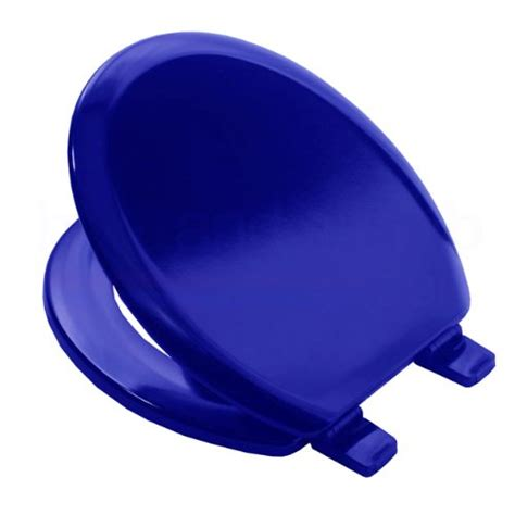 boat toilet seat cover bemis 5000 marine blue coloured moulded wood toilet seat