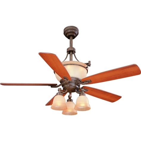 hton bay 34005 rock creek 52 in iron oxide ceiling fan