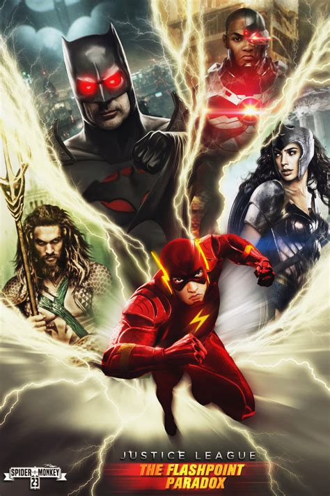 film justice league the flashpoint paradox justice league the flashpoint paradox poster by
