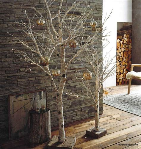 roost lighted birch artificial trees coastal christmas