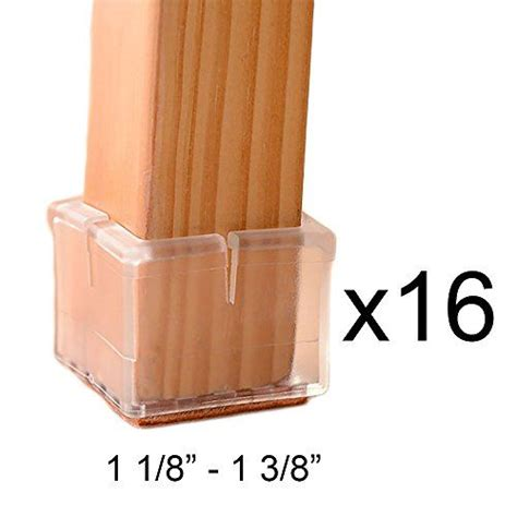 Wood Floor Protectors For Furniture by Nuliah 174 Chair Leg Wood Floor Protectors Set Felt
