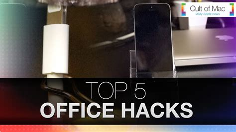 office hacks for greater productivity at work