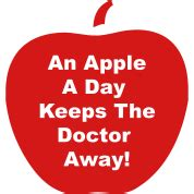 Apple A Day Keeps The Doctor Away Essay by An Apple A Day Keeps The Doctor Away T Shirt Spreadshirt