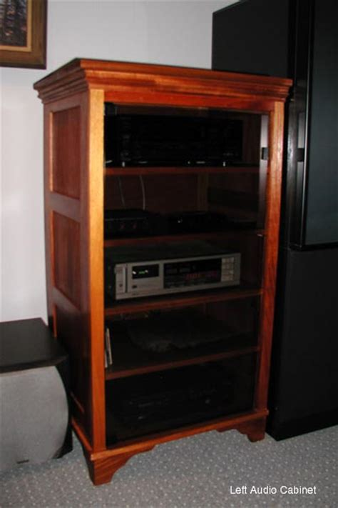 wood audio cabinets mahogany audio cabinets