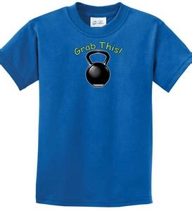 Grabbed By The Ghoulies Youth Kid T Shirt Size Xl shirt grab this kettle bell t shirt grab this