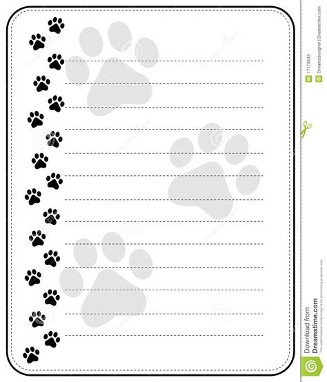 lined paper with cat border cute pets dogs and cats paw prints border hot girls