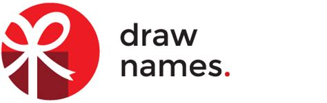 christmas name exchange generator drawnames gift exchange secret santa generator