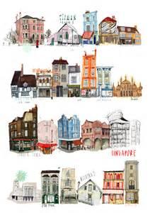 Drawing Building Illustration