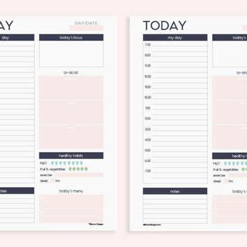 printable planner inserts kikki k a5 printable insert refill daily planner with schedule