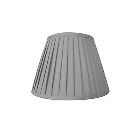 knife pleat shade grey 30cm