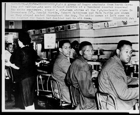 feb. 1, 1960 | black students and the greensboro lunch sit
