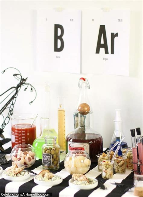 halloween themes for a bar halloween bar science lab theme celebrations at home