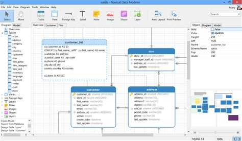 free database diagram tool navicat data modeler essentials linux database design