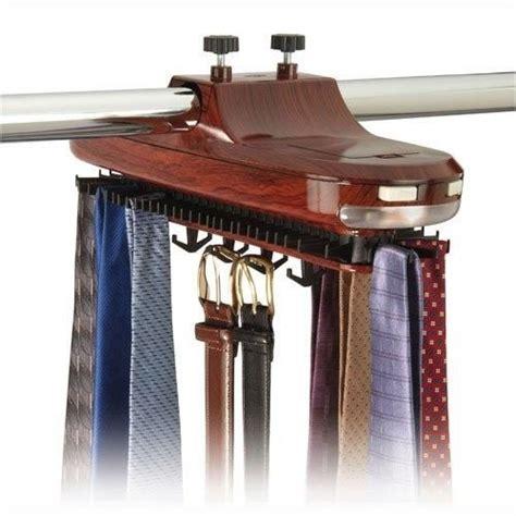Mens Tie Rack by Revolving Swivel Mens Tie And Belt Rack Closet
