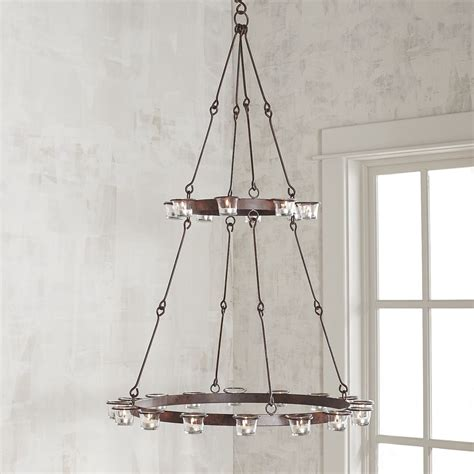 12 Hanging Candle Chandeliers You Can Buy Or Diy How To Make A Candle Chandelier