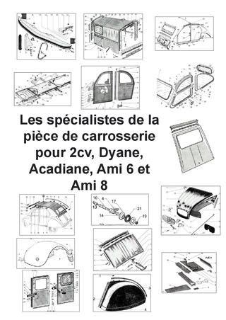 special 2cv and sheet metal catalog by retro design