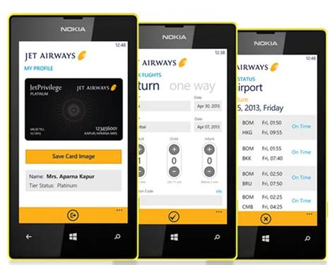 jet mobile app jet airways launches mobile app for windows phone with nokia