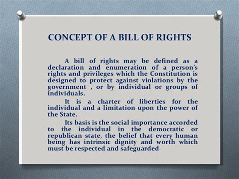 deprivation of rights color of article iii bill of rights