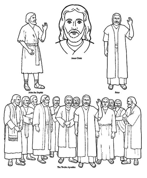 coloring pages for jesus and his disciples jesus 12 disciples coloring page sketch coloring page