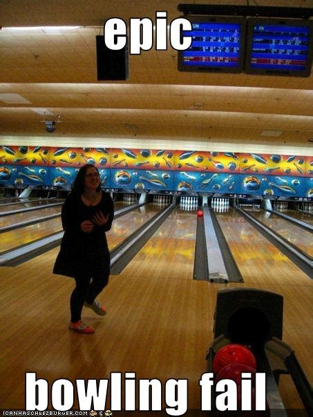 epic bowling fail cheezburger funny memes funny pictures