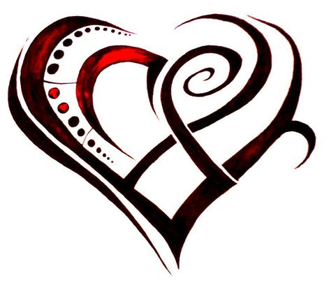tribal love heart tattoos tribal design tattoos removal tattoos
