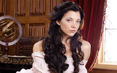 natalie dormer tudors natalie dormer with curls hd desktop wallpaper
