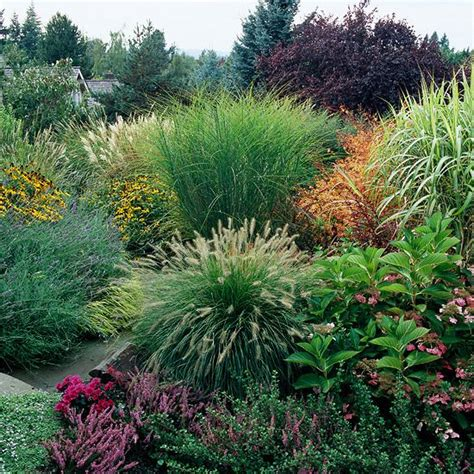 Feel Free Landscaping With Ornamental Grasses Grass Garden Design