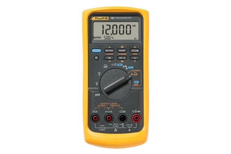 Multimeter Fluke 787 dmm and loop calibrator combo fluke 787 processmeter