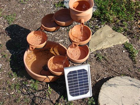 Bunga Goyang Motif Energy Solar Moving Plant Pot Murah 25 awesome handmade outdoor fountains shelterness
