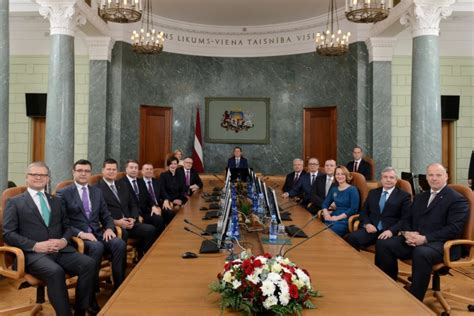 Government Cabinet by Politics Of Latvia Latvia Eu