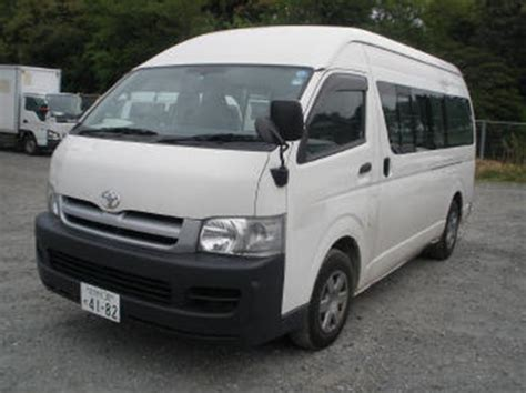 toyota hiace for sale usa toyota hiace high roof 2005 used for sale