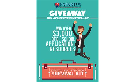Mba Admissions Secrets by Expartus Mba Application Survival Kit Giveaway
