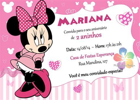 Undangan Ulang Tahun Birthday Invitation Minnie Mouse de minnie mouse para editar gratis imagui searc oh my alfabetos minnie mouse template 94