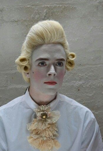 wig makeover for men 18th century hair and makeup aristocrats pinterest