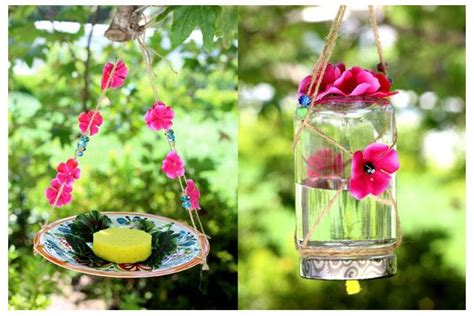 homemade hummingbird ornaments how to make a butterfly feeder with pictures ehow